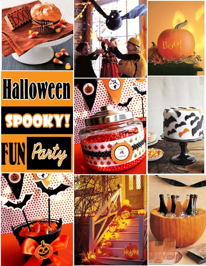 halloween theme birthday party | Bird's Party Blog: Handpicked Halloween Party Inspiration