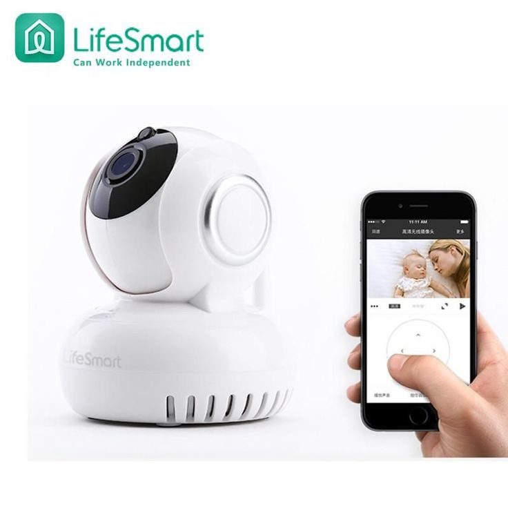 Lifesmart Brand Home Automation Smart IP Camera Wifi Wireless Remote Control CCTV Camera For Security Alarm System Night Version