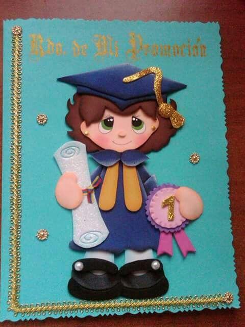 Carpeta De Graduando Preescolar En Foami Imagenes