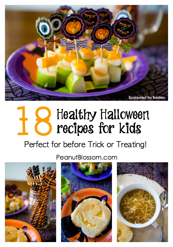 Have Some Fun In The Kitchen Before Your Kids Go Trick Or Treating With These Adorable And Easy Halloween Recipes