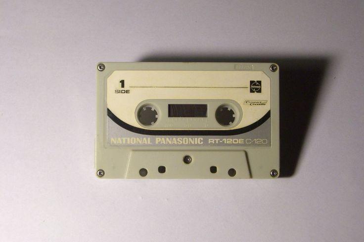 NATIONAL PANASONIC VINTAGE AUDIO CASSETTE TAPE RT-120E ( USED )(1973 ) VERY RARE #Panasonic
