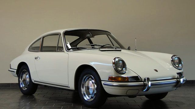 Porsche 912 - 1967 Porsche 912 Coupe - Light Ivory - Now this is a cool affordable Classic