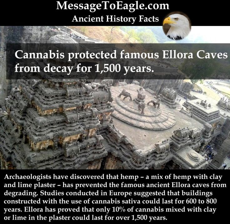 Ancient History Facts: Cannabis protected famous Ellora Caves from decay for 1,500 years.