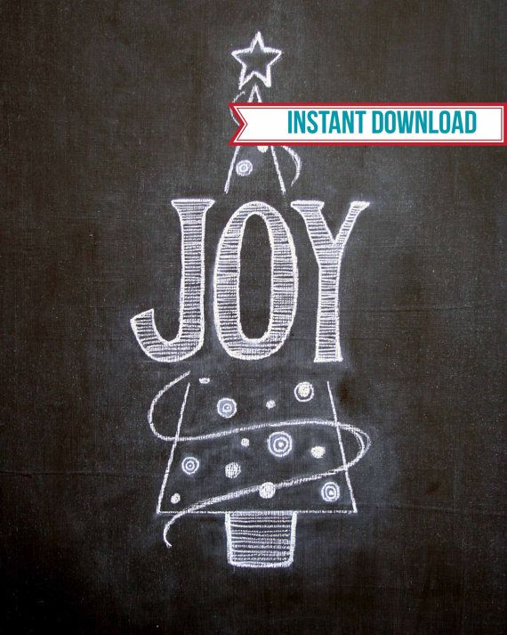 Joydigital download chalkboard by TheBlackandWhiteShop on Etsy