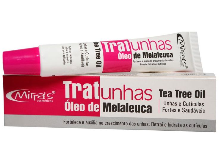 Trat Unhas Óleo de Melaleuca 28g Mirra´s - Esmalte - Magazine Luiza