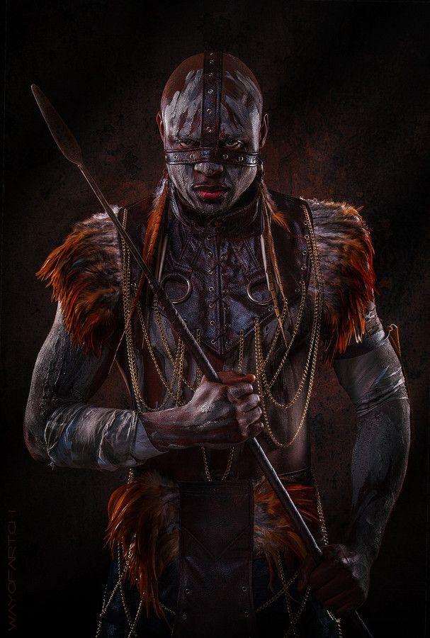 african fighter by wayofart.ch