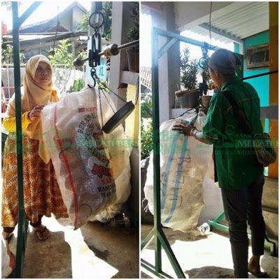 Bank Sampah Melati Bersih: Kegiatan Penimbangan Sampah di BSMB Kemuning