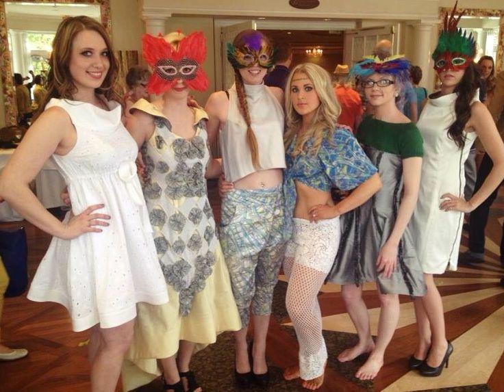 "SMTM Models ""Jenny, Melissa, Halley Rose, Kimber, Emily & Ashley"" @ the Escape to Rio Fashion Show 2012"