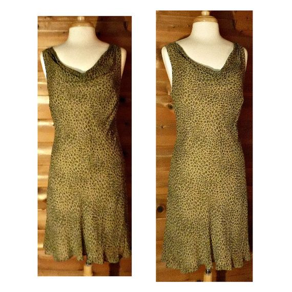 Hey, I found this really awesome Etsy listing at https://www.etsy.com/listing/256663112/womens-leopard-dress-vintage-dress