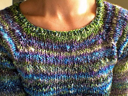 Handspun Sweater Pattern