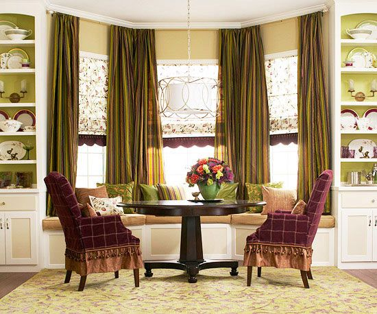 87 Best Cool Window Treatments Images On Pinterest  Blinds Magnificent Window Curtains For Dining Room Design Inspiration
