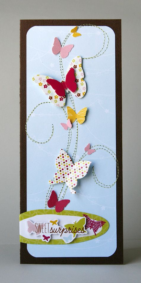 Adorable card by Cindy Tobey over on the American Crafts blog