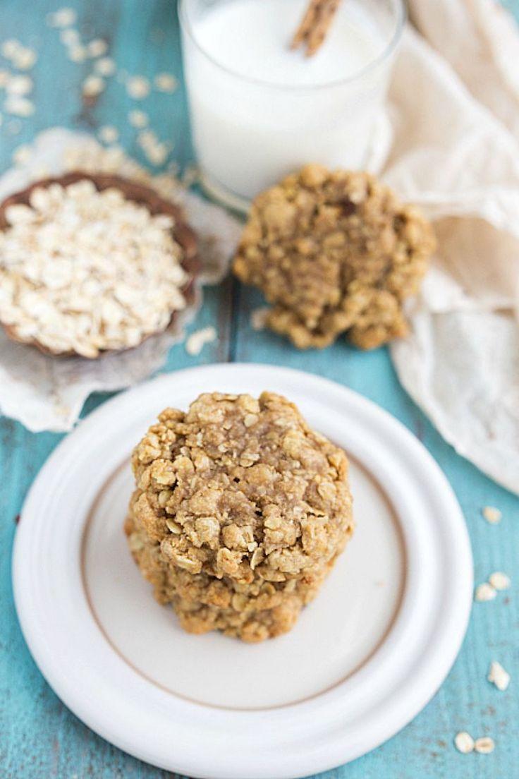 When aisha cooks how to make oatmeal custard my style aisha - Healthy Peanut Butter Oatmeal Cookies