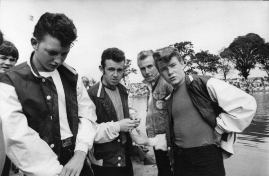 1950s Greasers by Railroad Jack. Greasers were a predominately white ethnic youth subculture that originated in the 1950s among young northeastern and southern United States street gangs. The style and subculture then became popular among other types of people, as an expression of rebellion.