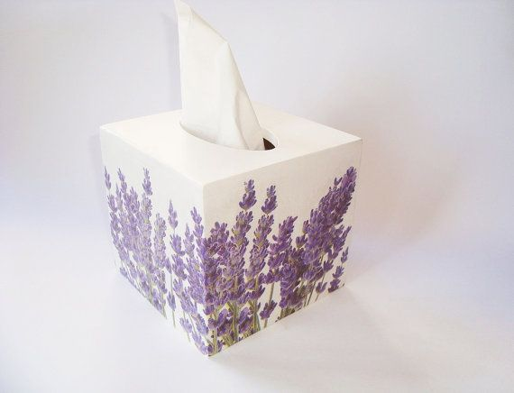 Wood tissue box cover. Wood tissue box. Wood napkin box. Decoupage. Wood Napkin…