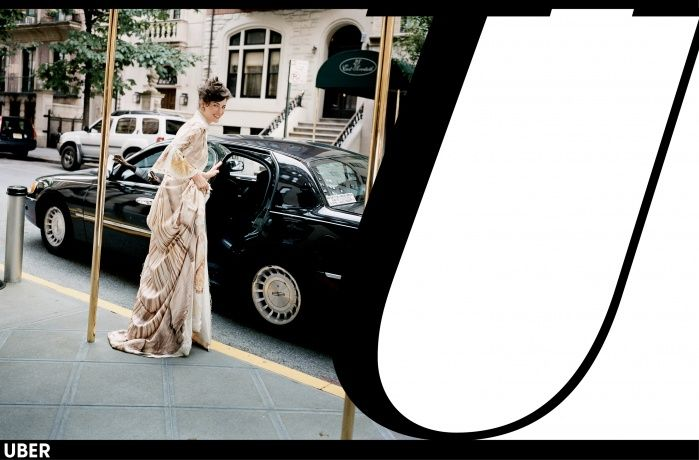 Fashion week spring 2014 Uber cars rental