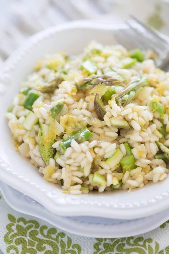 Asparagus Lemon Risotto Recipe