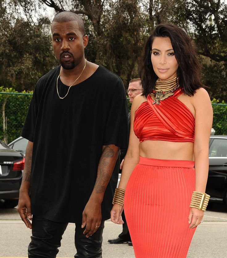 Kanye West Debuts New Sneakers; Kim Kardashian Shows Off Haircut At Roc Nation Pre-Grammy Brunch