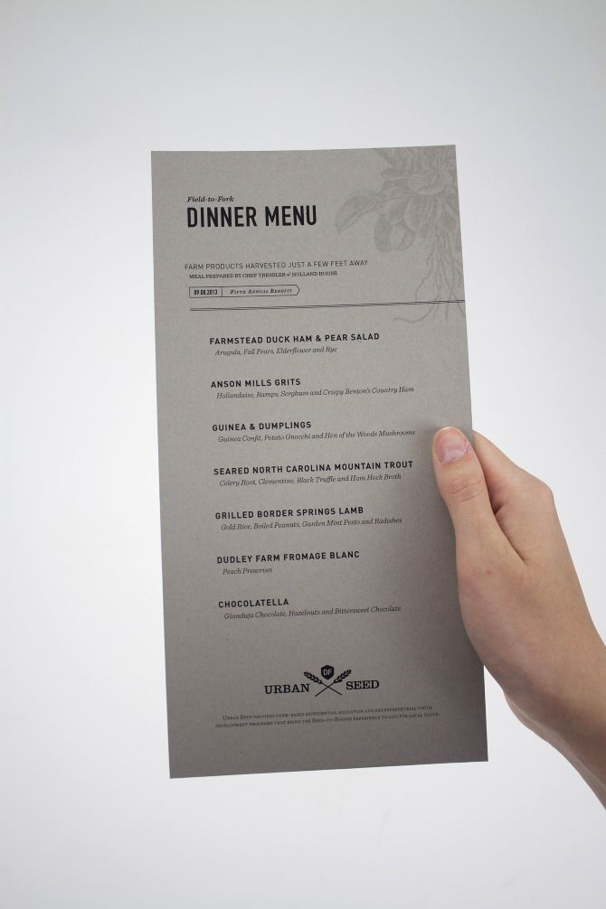 35 Beautiful Restaurant Menu Designs
