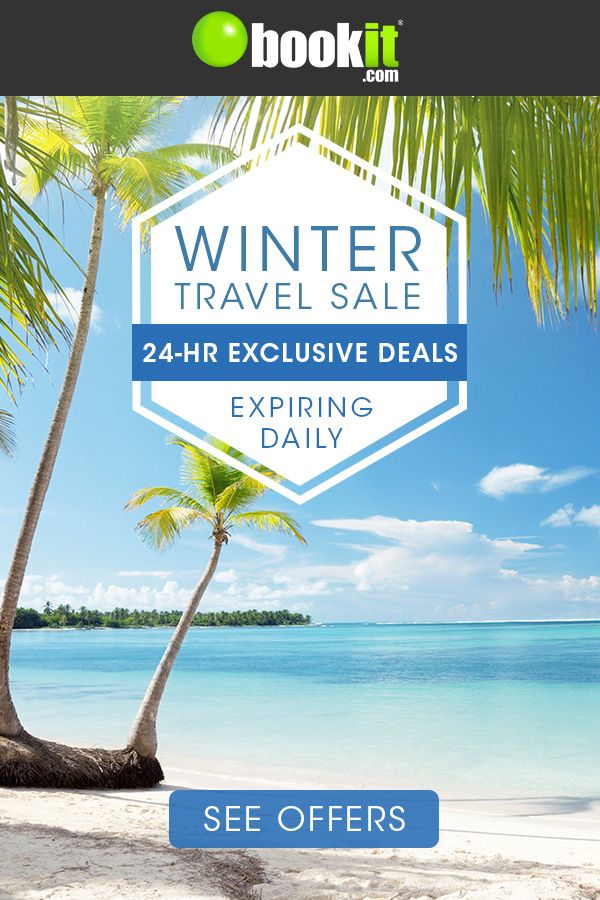 fb36b5ee7a82 Tired of the cold  Book an all-inclusive vacation to Mexico or the  Caribbean during the Winter Travel Sale! Take advantage of 24-hr exclusive  deals expiring ...