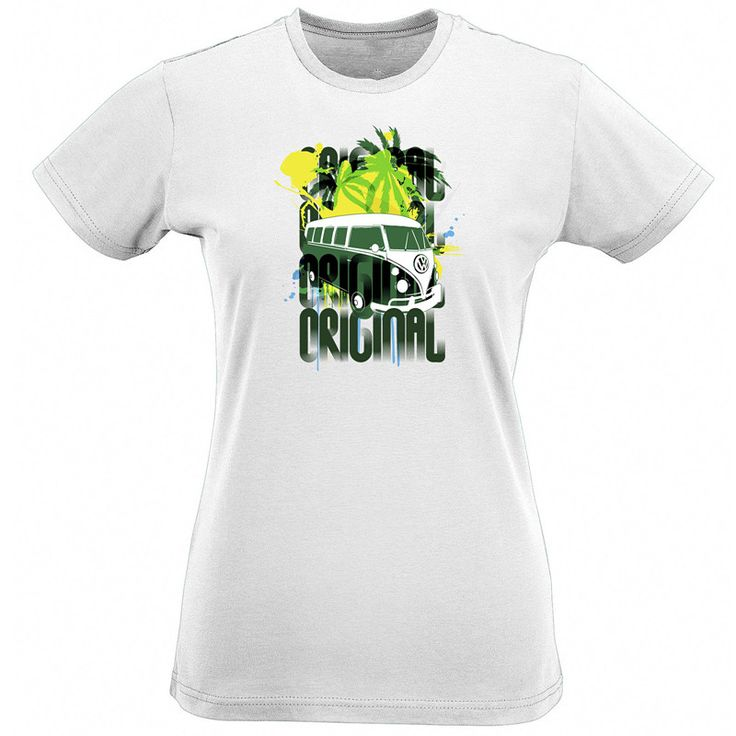 >> Click to Buy << T Shirt Custom O-Neck Women Short Sleeve Best Friend Original Van Splitty Baywindow Campervan Hippy Surfer #Affiliate
