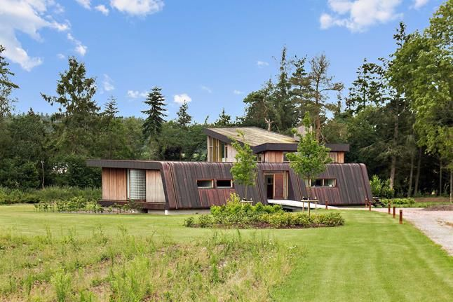 Architecturally made to fit into the surrounding nature - this is a unique home set in a beautiful place