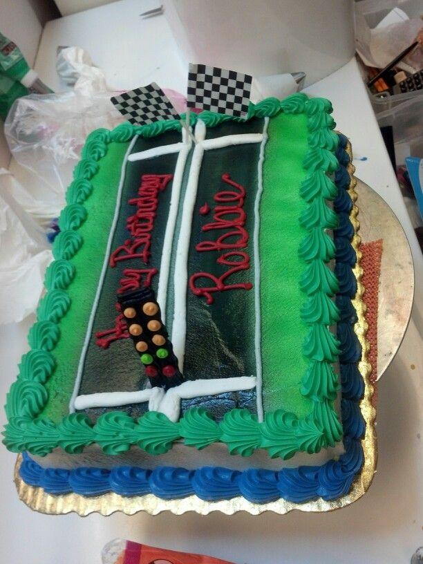 Drag Racing Cake Birthday Cake For Him Racing Cake