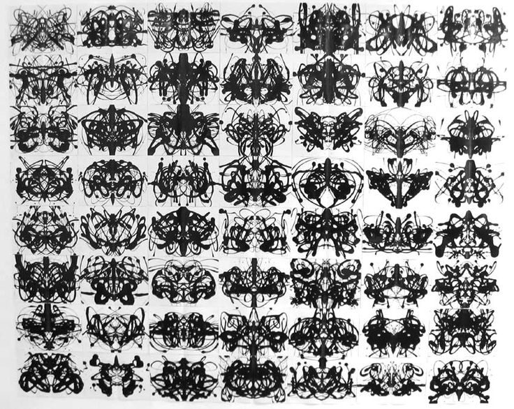 I wanna choose one as my tattoo. This is a rorschach test.