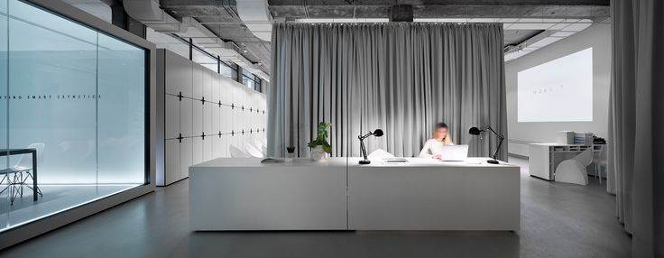 soesthetic group's office hub in ukraine echoes paper architecture