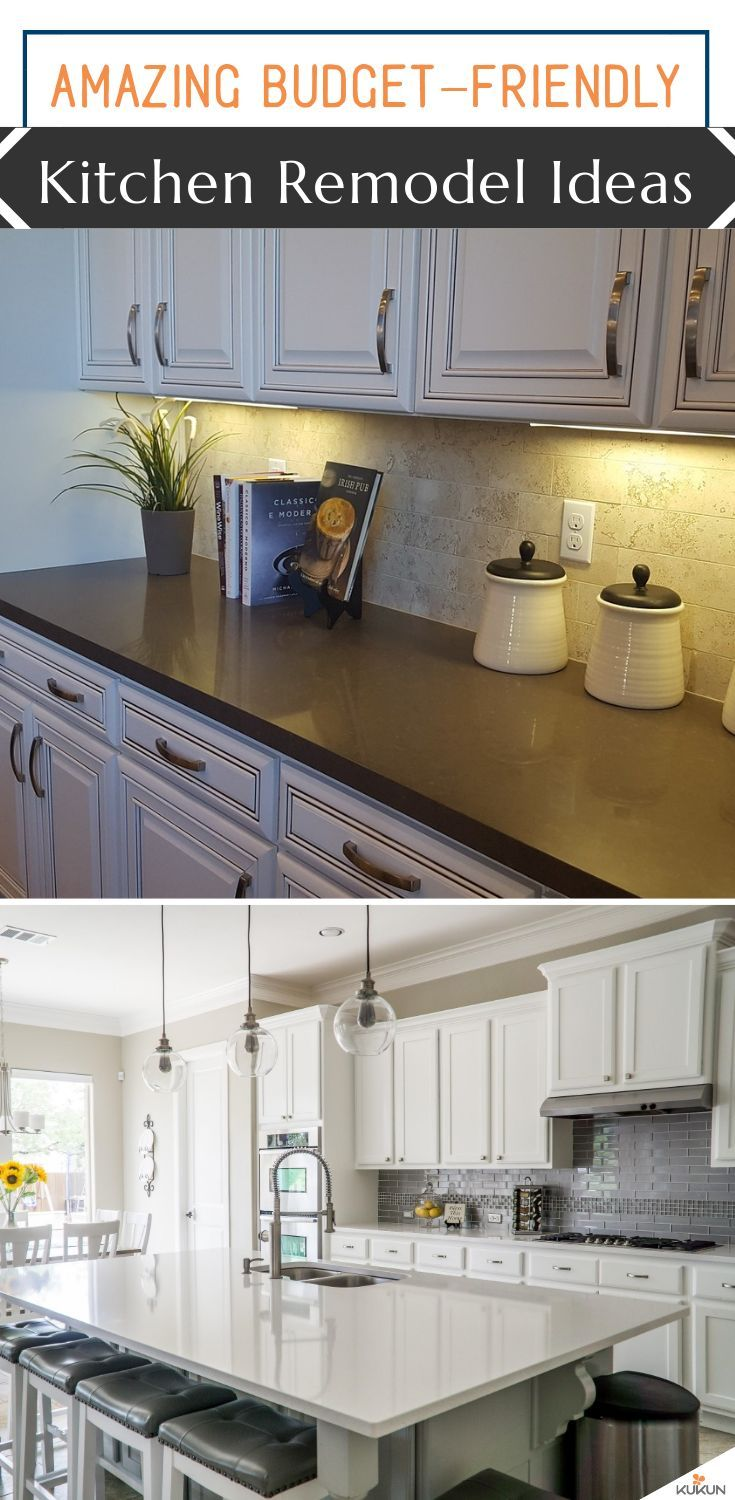 Here Are Some Great Kitchen Remodeling Ideas That Can Make Your Kitchen Look Like New Without Breaking T Kitchen Remodel Kitchen Remodel Small Kitchen Cabinets