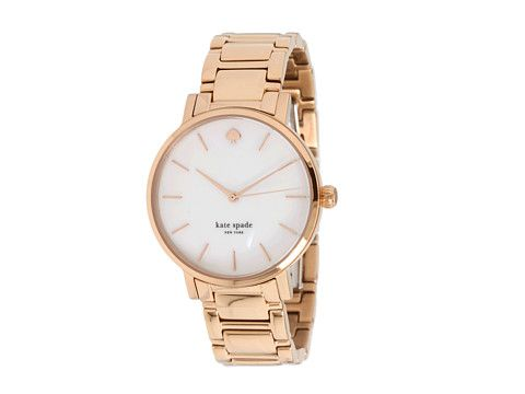 Trendy Rose Gold Watch by Kate Spade.
