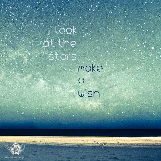 Look at the stars /// Make a wish!  www.storminateapotbrand.bigcartel.com Follows us also on:   FB Storm in a Teapot   G+ goo.gl/yNOUHh   Twitter twitter.com/StormTeapot