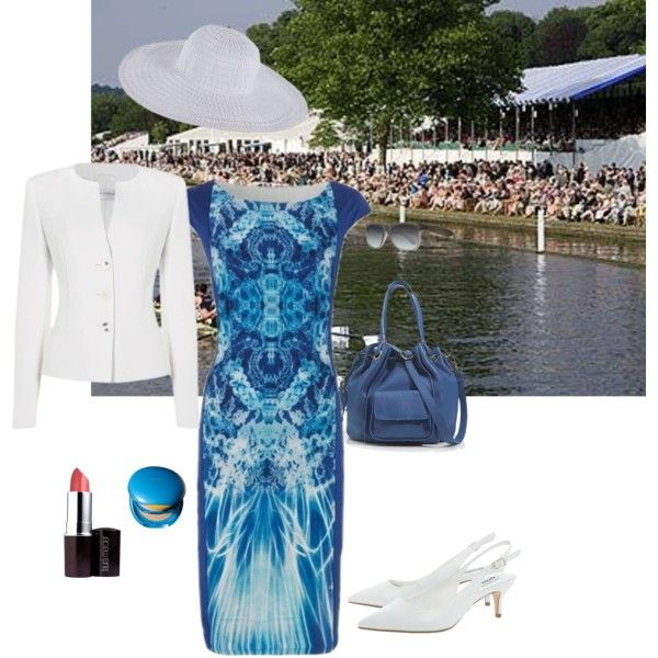 "Outfit for Henley Regatta ""Special Occasion dressing"" by chicatanyage on Polyvore"