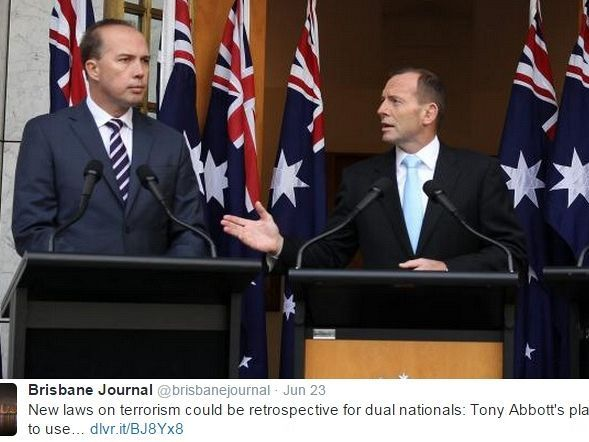 The bill to strip to strip dual nationals involved in terrorist activities of their Australian citizenship is seriously flawed and may be unconstitutional, writes Professor Helen Irving. https://independentaustralia.net/life/life-display/abbott-bill-relies-on-a-legal-fiction-to-revoke-citizenship,8062