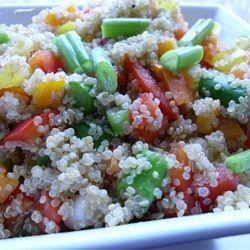 Quinoa Vegetable Salad Allrecipes.com