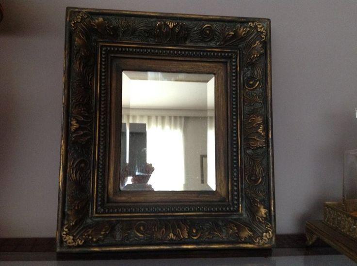 #belovedstudentspieces #mirror #autentico #chalkpaint #vintage