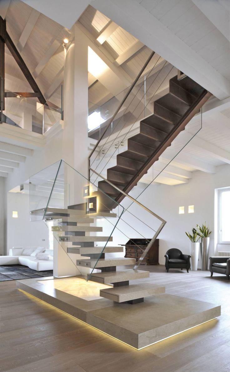 salas con escalera que te van a encantar y a inspirar