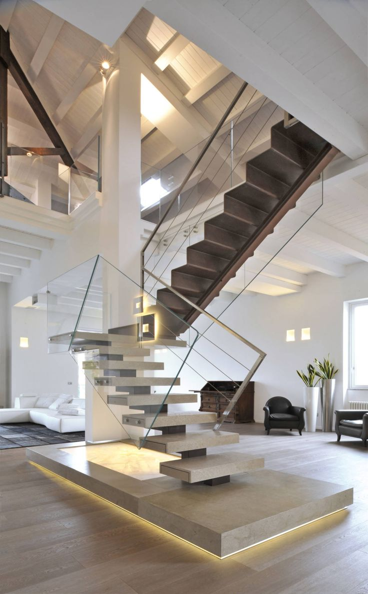 Best Holz Treppe Design Atmos Studio Images - House Design Ideas ...
