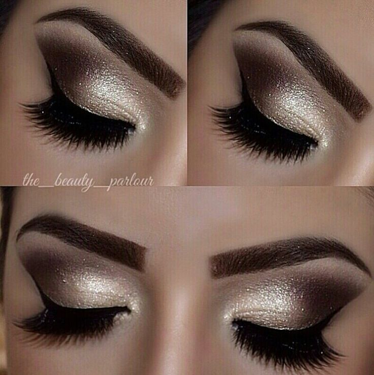 Gold and browns goes with all eyes!!