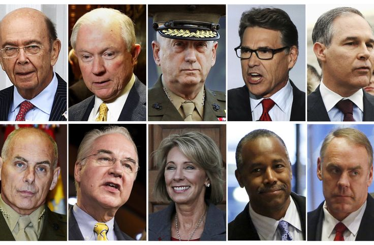 Trump Cabinet members with the highest net worths -