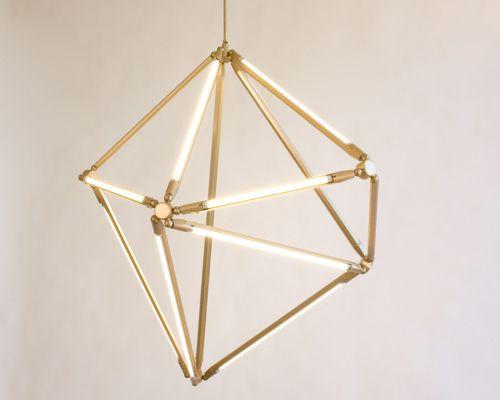 3-d.Sculpture Lights, Lights Fixtures, Lights Installations, Light Fixtures, Lights Sculpture, Geometric Lights, Design Lights, Light Installation, Lights Fit