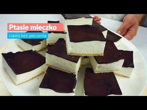 PRZEPIS: http://kobieceinspiracje.pl/kulinaria/77485,ciasto-ptasie-mleczko-bez-pieczenia.html