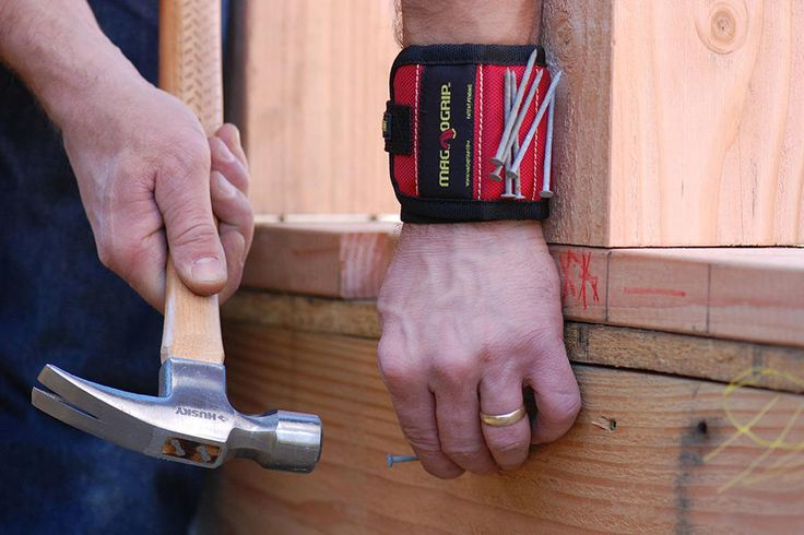 MagnoGrip Magnetic Wristband - Last-Minute Gifts You Can Get In Time For Father's Day - Southernliving. BUY IT: $14.65; amazon.com Offer dad a helping hand to hold nails, screws, and small tools.