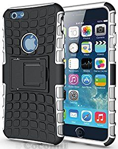 BEST iPhone 6S / iPhone 6 Case, Cocomii® [HEAVY DUTY] Grenade Case *NEW* [ULTRA TITAN ARMOR] Premium Shockproof Kickstand Bumper Cover - Full-body Rugged Hybrid Protective Cover Bumper Case for Apple iPhone 6S / iPhone 6 • Unique, rugged design with style and the utmost protection • Raised edge around the front lip for face-down protection • Extreme protection from drops and scratches • Unique, slide-out kickstand for ease of video viewing • 5% Off Coupon Code 6BXA7NOZ This Week Only!