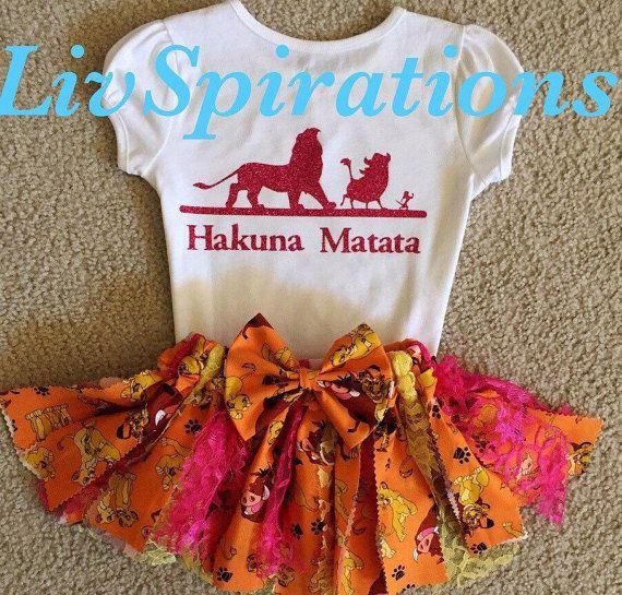 Hakuna Matata-Lion King-Simba-Nala-Lion King by LivSpirations