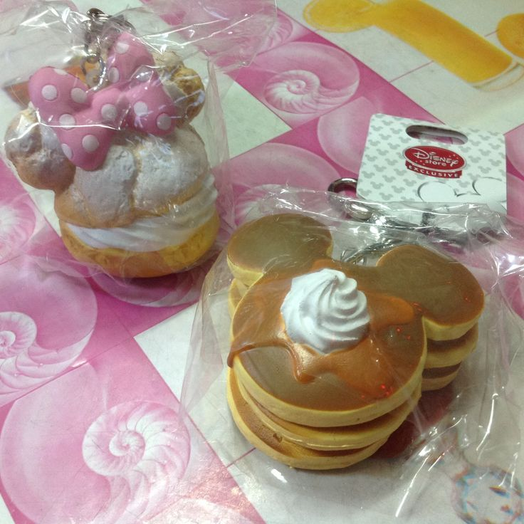 Squishy Tag Ideas : Disney Licensed Mickey and Minnie Cafe Squishy Disney, Originals and Packaging