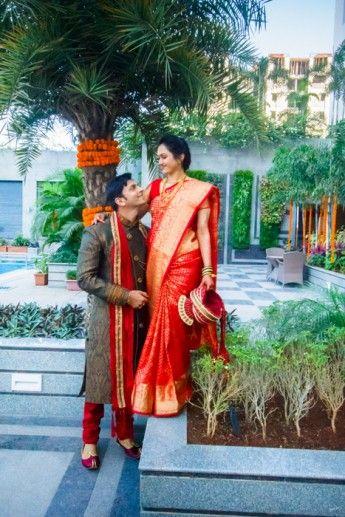 A Jewel Toned Maharashtrian Wedding In Mumbai Shivani