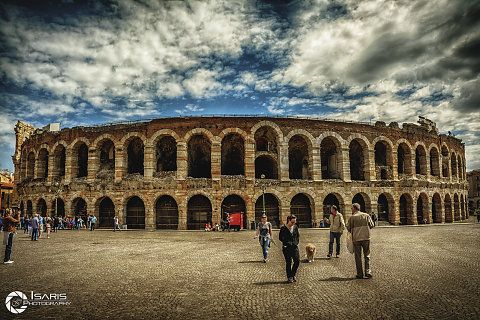 Arena di Verona - Italia.