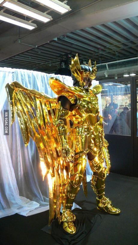 Saint Seiya Real size