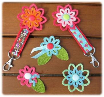 Crochet Style Freestanding Lace Stickdateien Embroidery Files